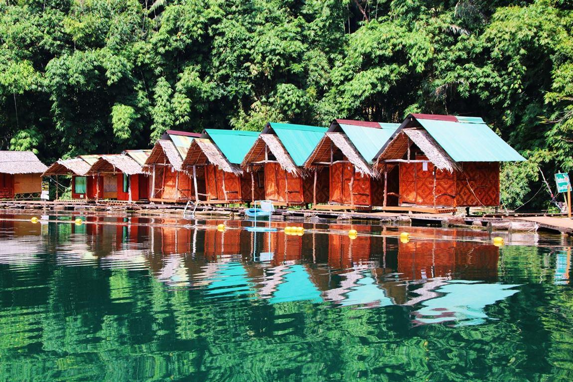 Khao Sok Tajlandia domki na jeziorze