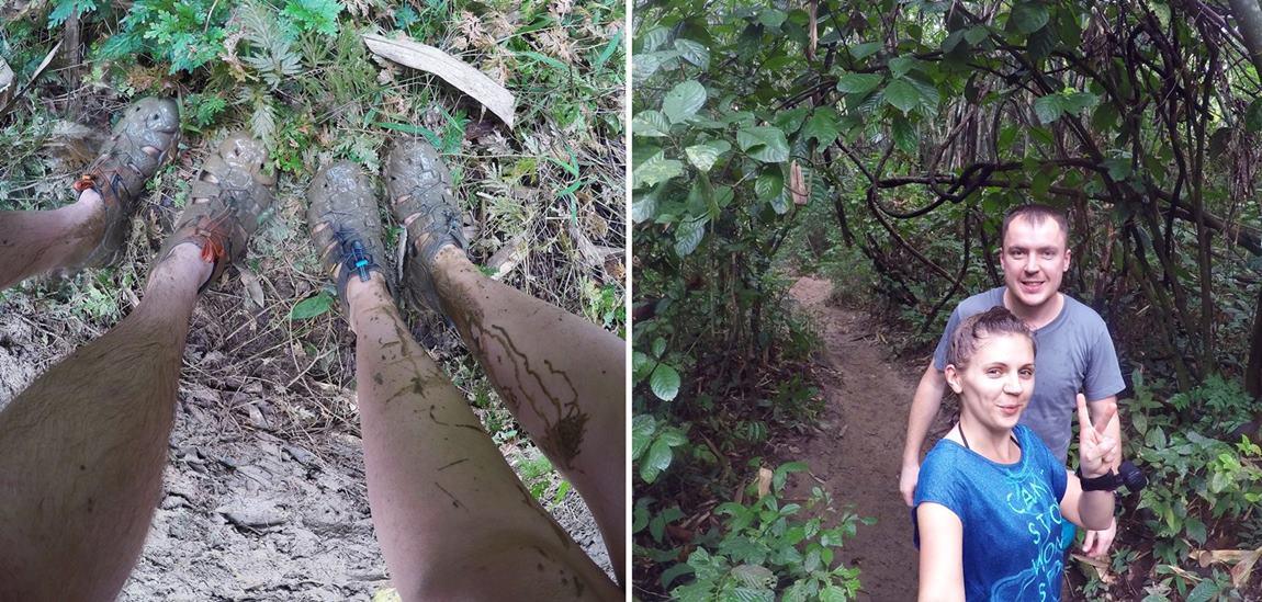 obuwie do dżungli Khao Sok Tajlandia