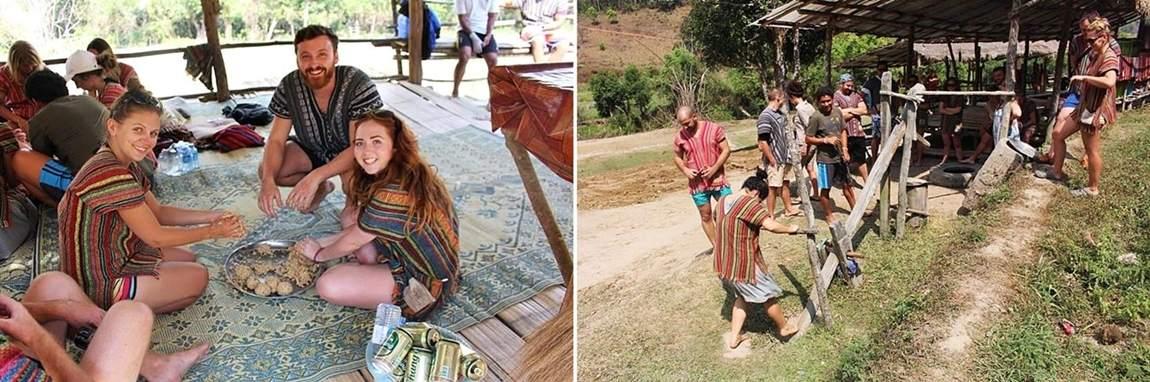 Rezerwat słoni w Tajlandii - robimy leki dla słoni