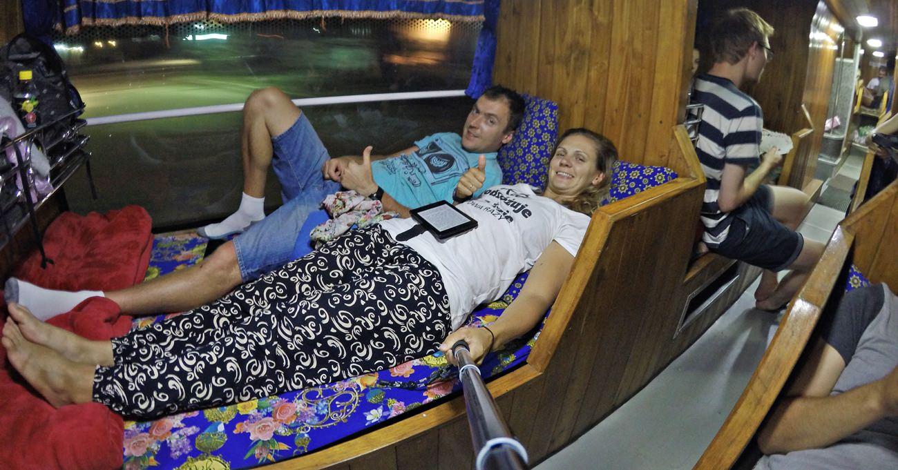 sleeping bus in asia