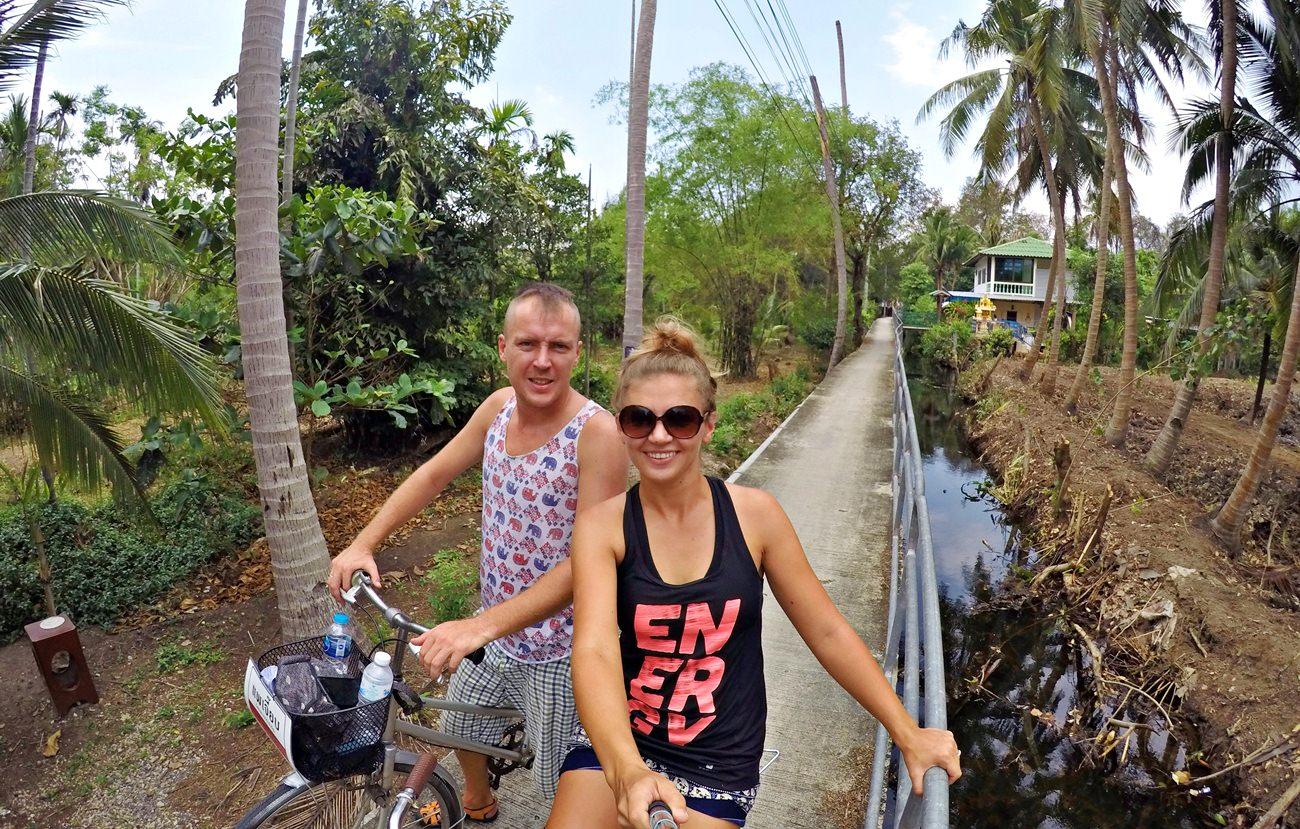 rowerem po Bangkoku