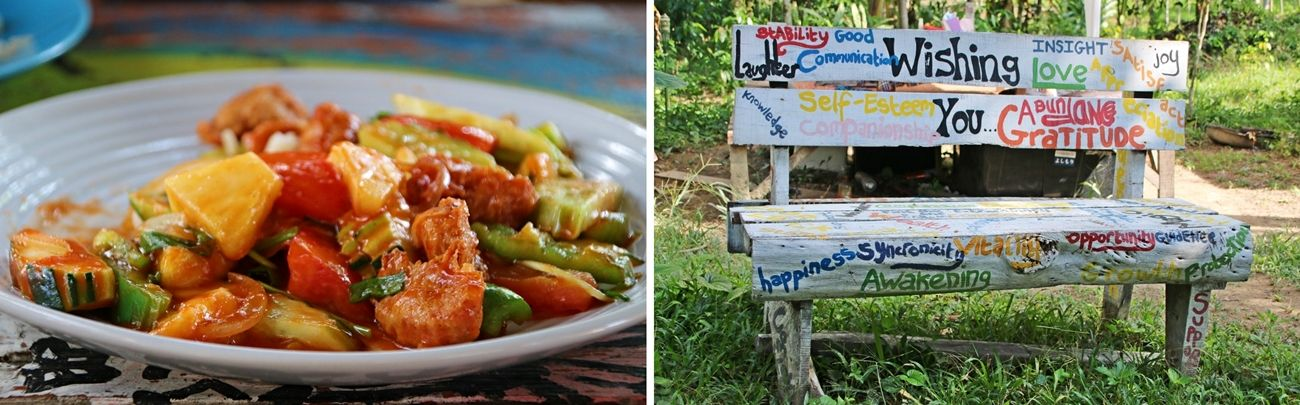 Koh Phayam wegetariańska restauracja