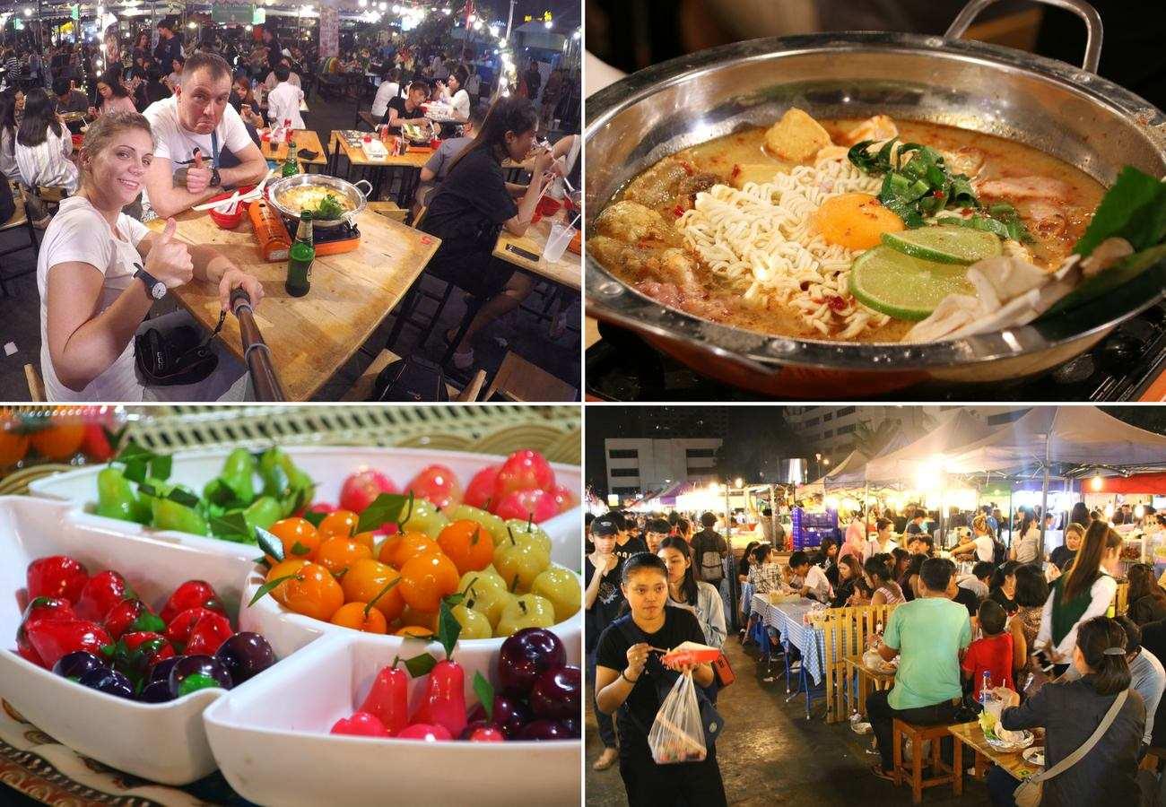 co robić w Bangkoku nocne markety