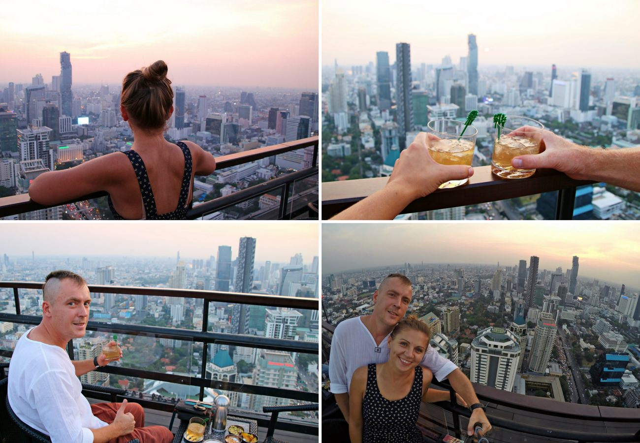 sky bar w Bangkoku