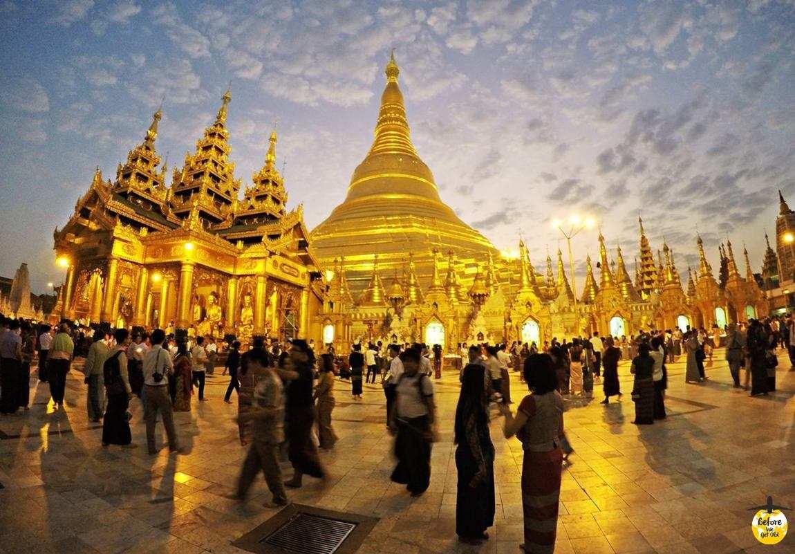 co zobaczyć w Birmie Shwedagon Pagoda
