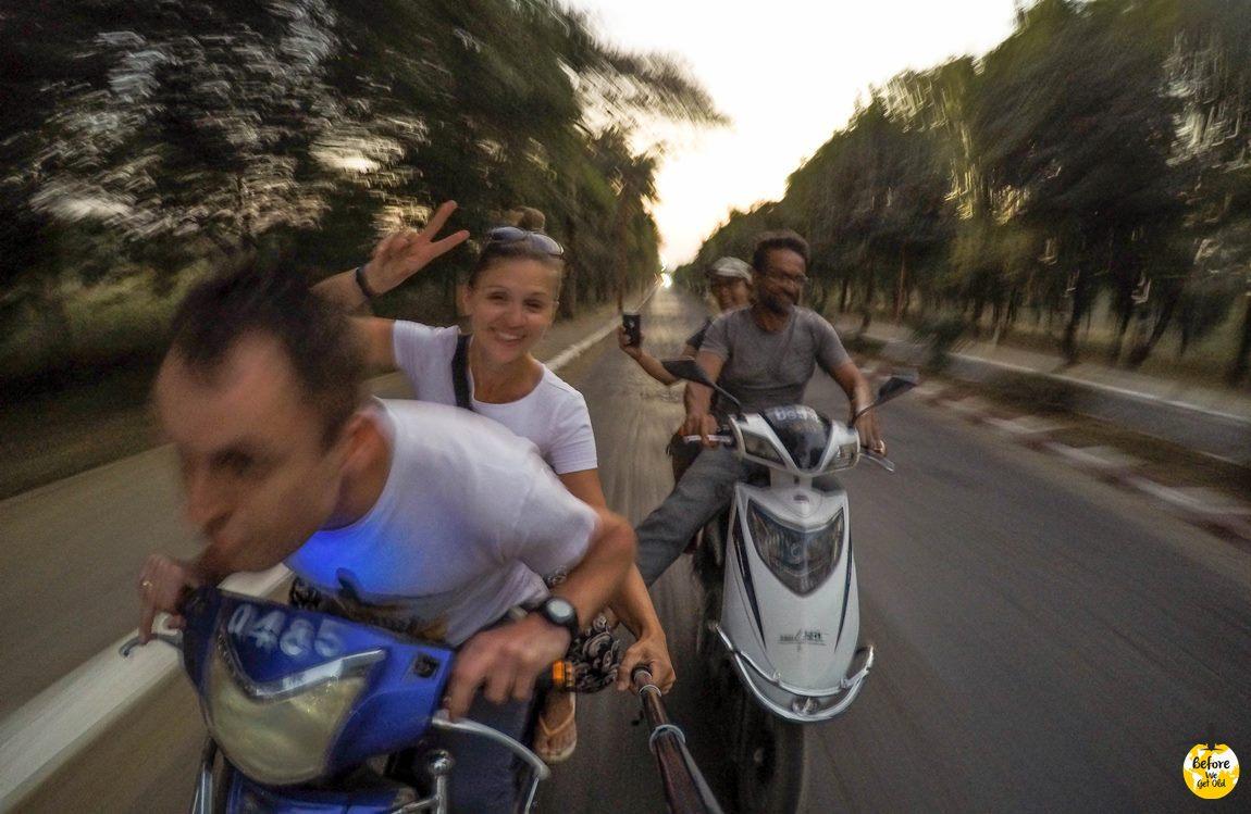 Bagan skuterem