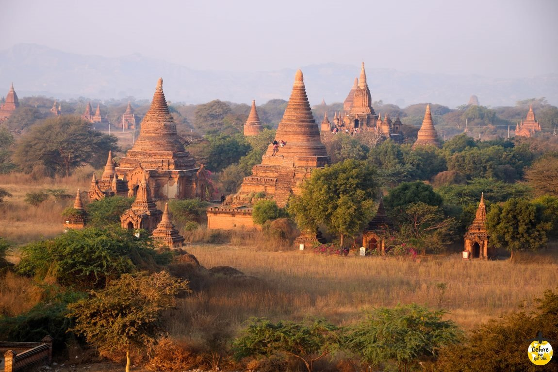 pagoda w Bagan