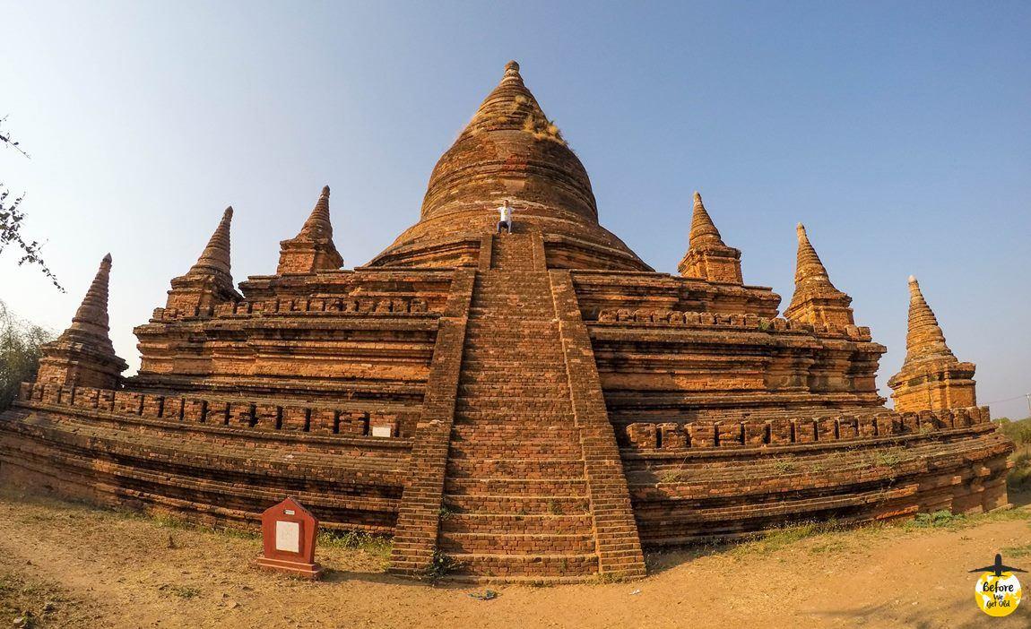 stupa w Bagan