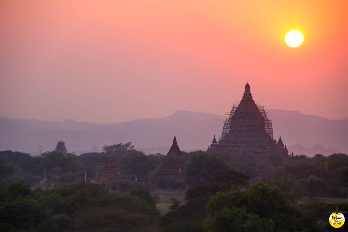 Bagan trzęsienie ziemi