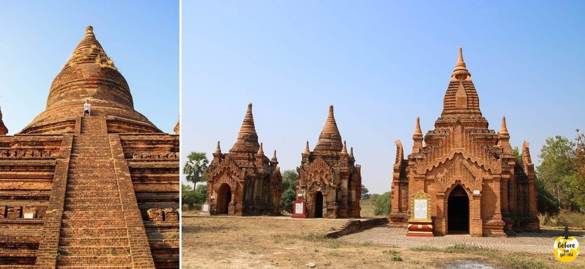 Bagan w Birmie świątynie