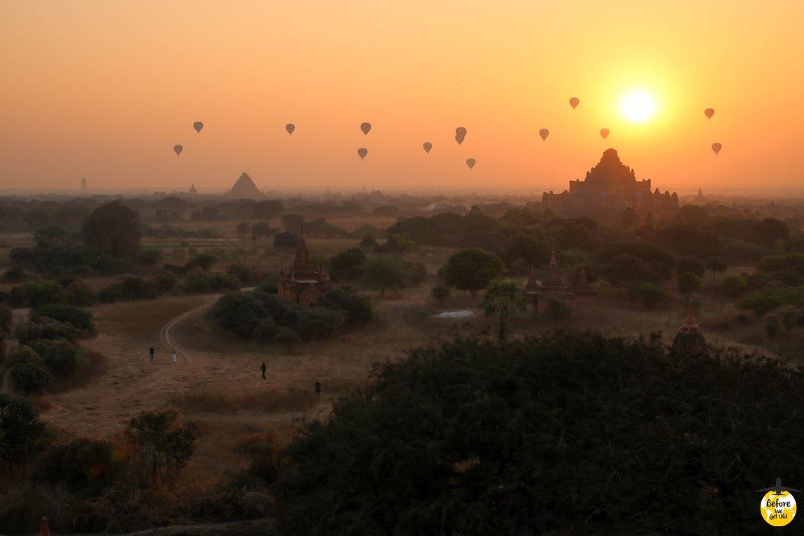 Bagan loty balonem