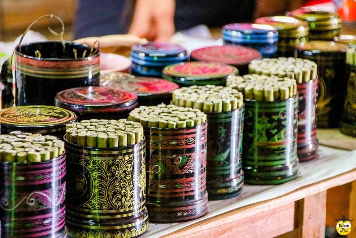 cygara w Mjanmie