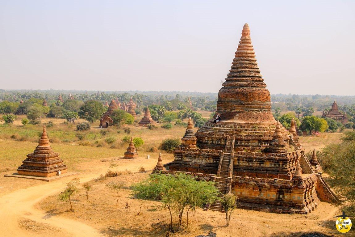 Bagan stupy