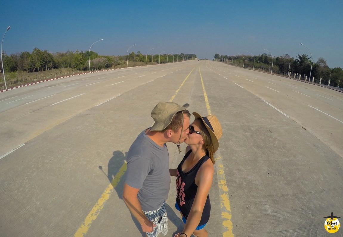 Stolica Mjanmy - 20-pasmowa autostrada