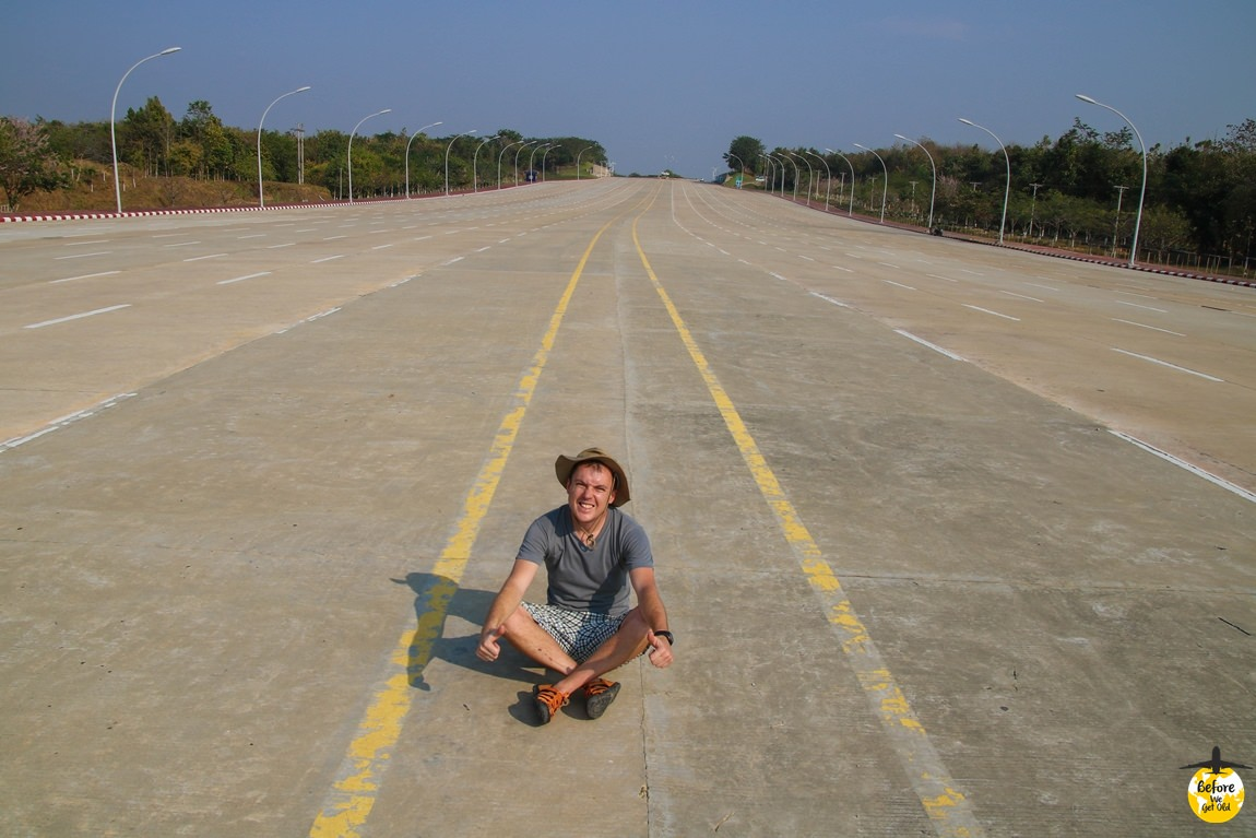 Stolica Mjanmy - autostrada