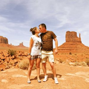 podróż poślubna do Stanów