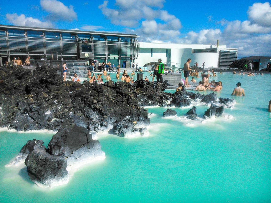 gorące źródła Islandii Bue Lagoon