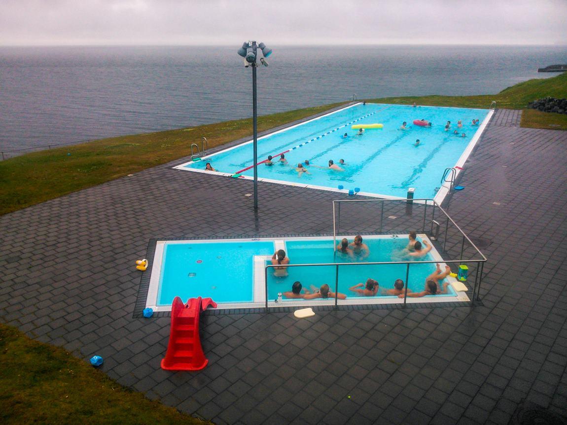 gorące źródła Islandii Hofsos