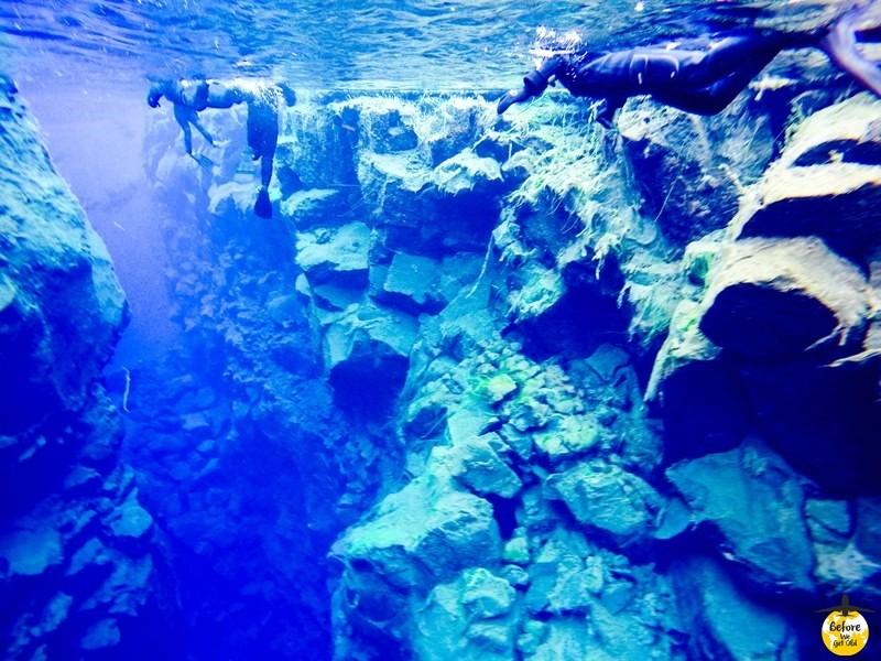 Islandia snorkeling nurkowanie Silfra