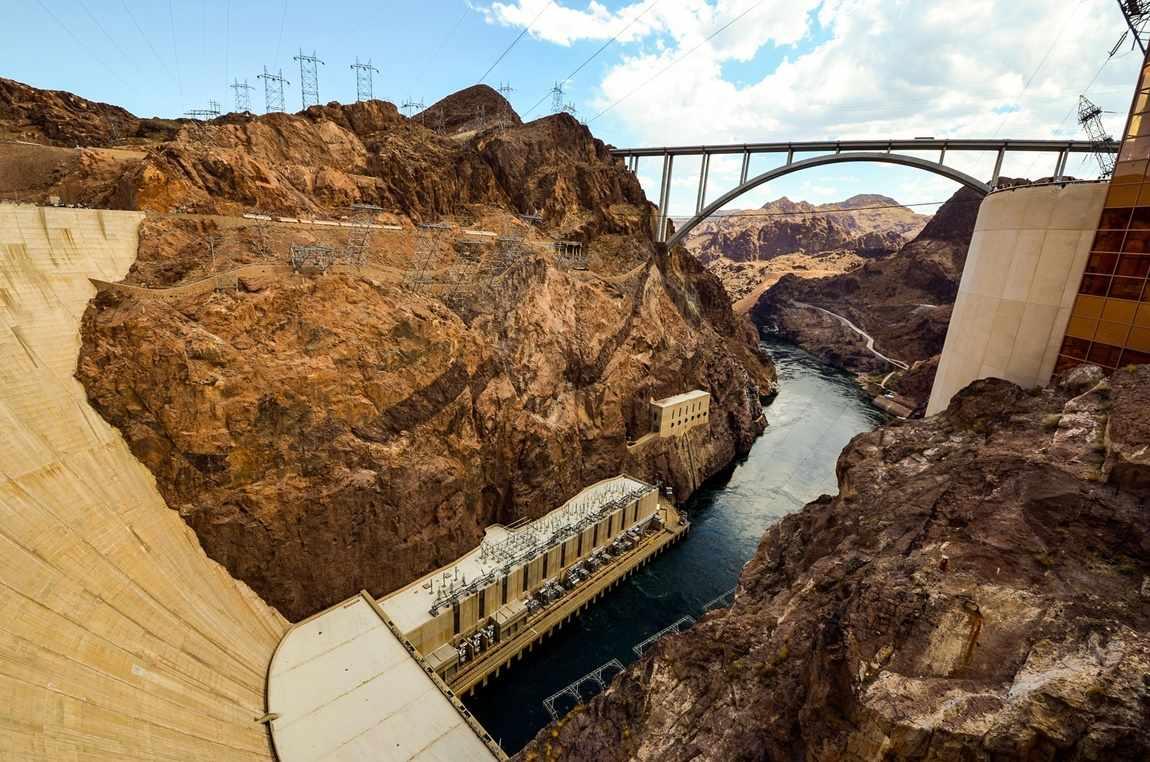 zapora Hoovera Las Vegas zachód USA