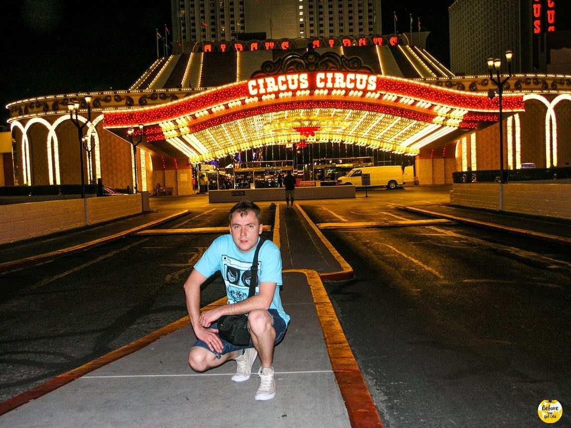 Las Vegas zachód USA