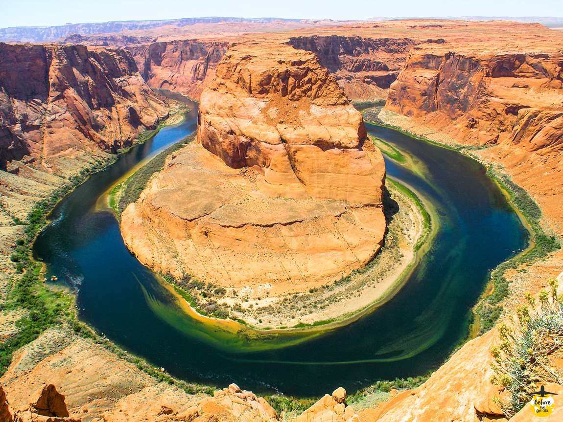 Horseshoe Bend Kolorado zachód USA