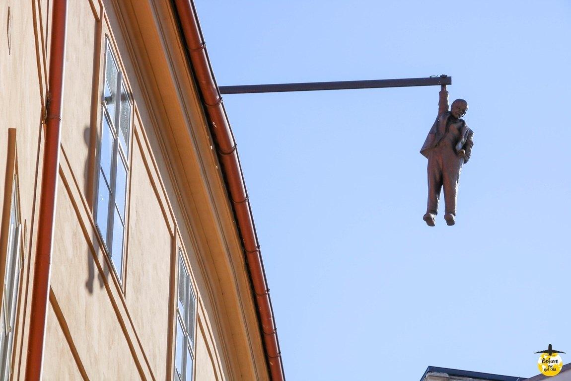 Praga rzeźby Davida Cernego