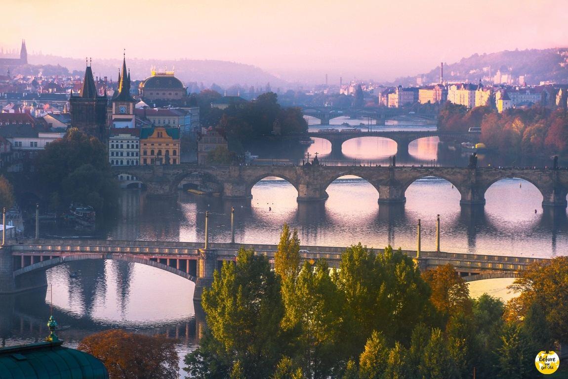 Praga punkty widokowe