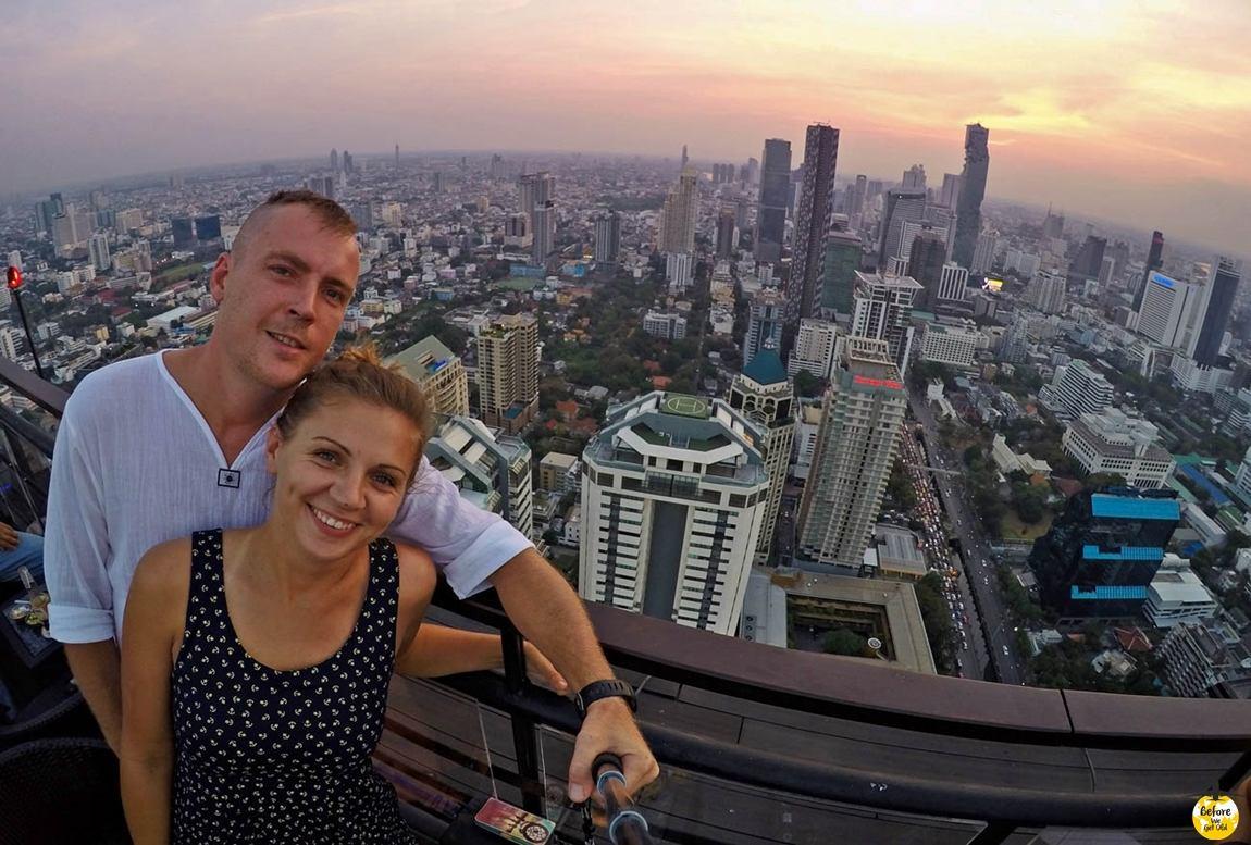 Bangkok sky bar Azja top 10 miejsc
