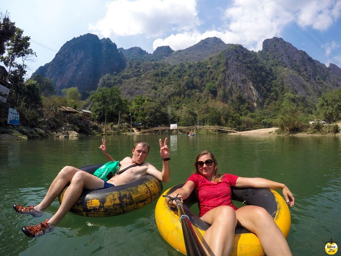 Azja top 10 miejsc Laos spływ