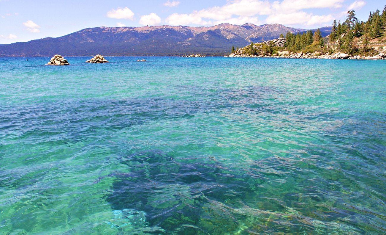 Jezioro Tahoe USA
