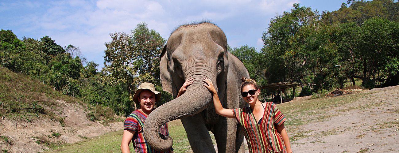 opieka nad słoniami w Tajlandii