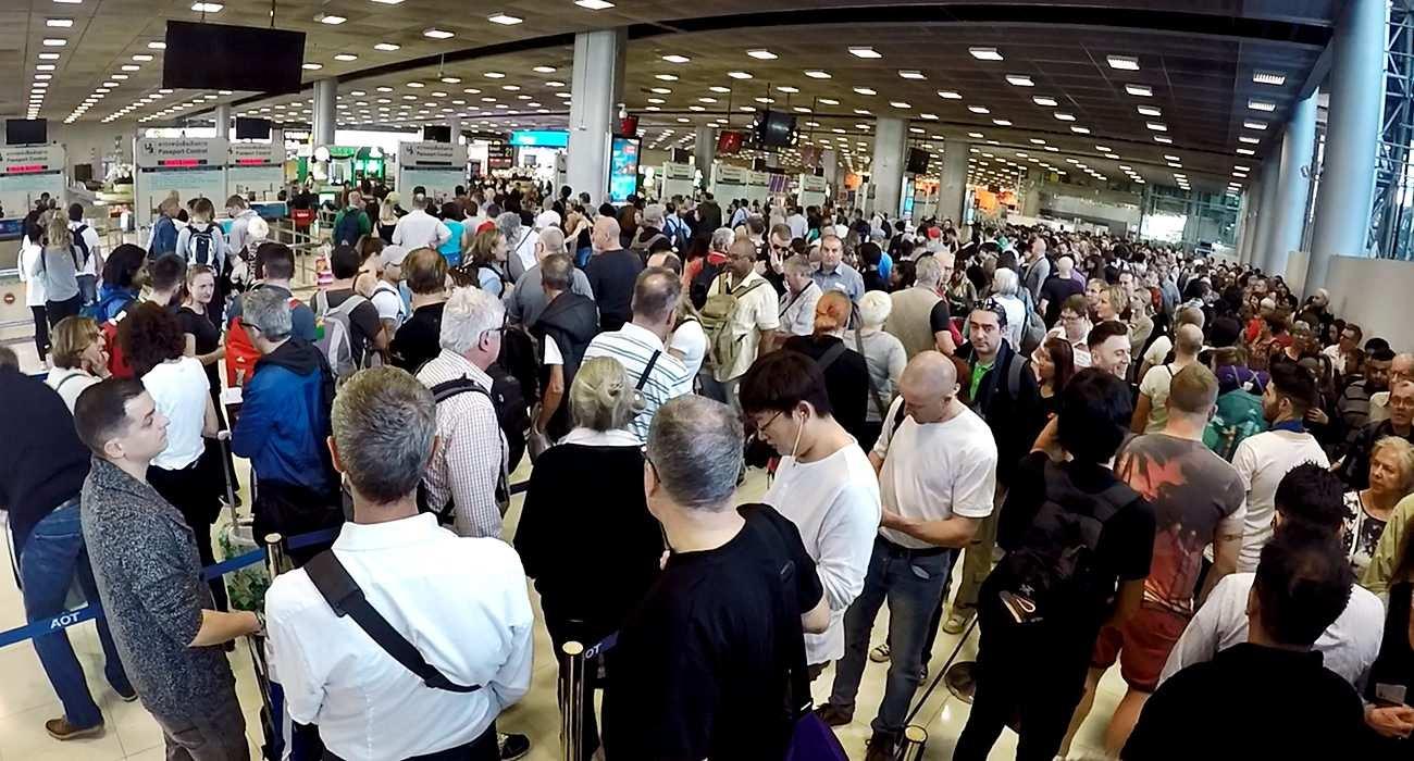 Tajlandia - porady praktyczne lotnisko w Bangkoku