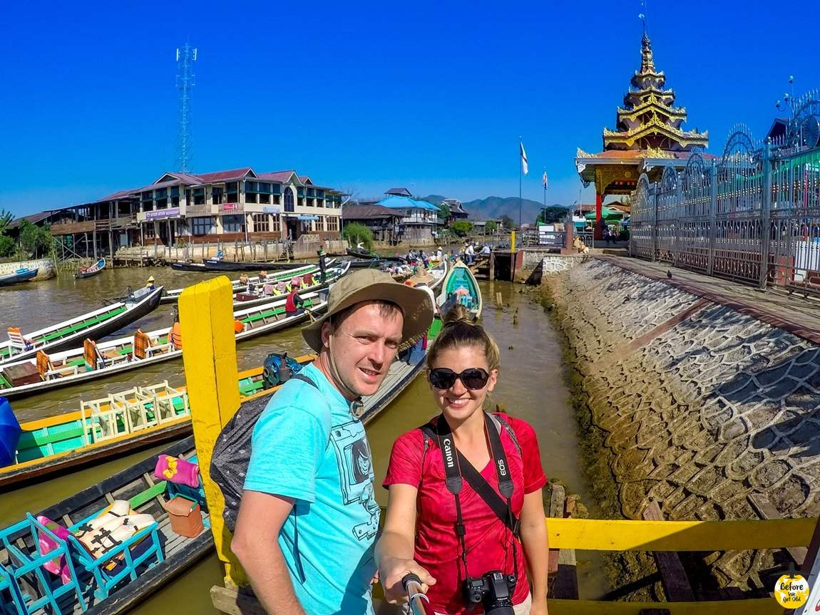 zwiedzamy Birmę