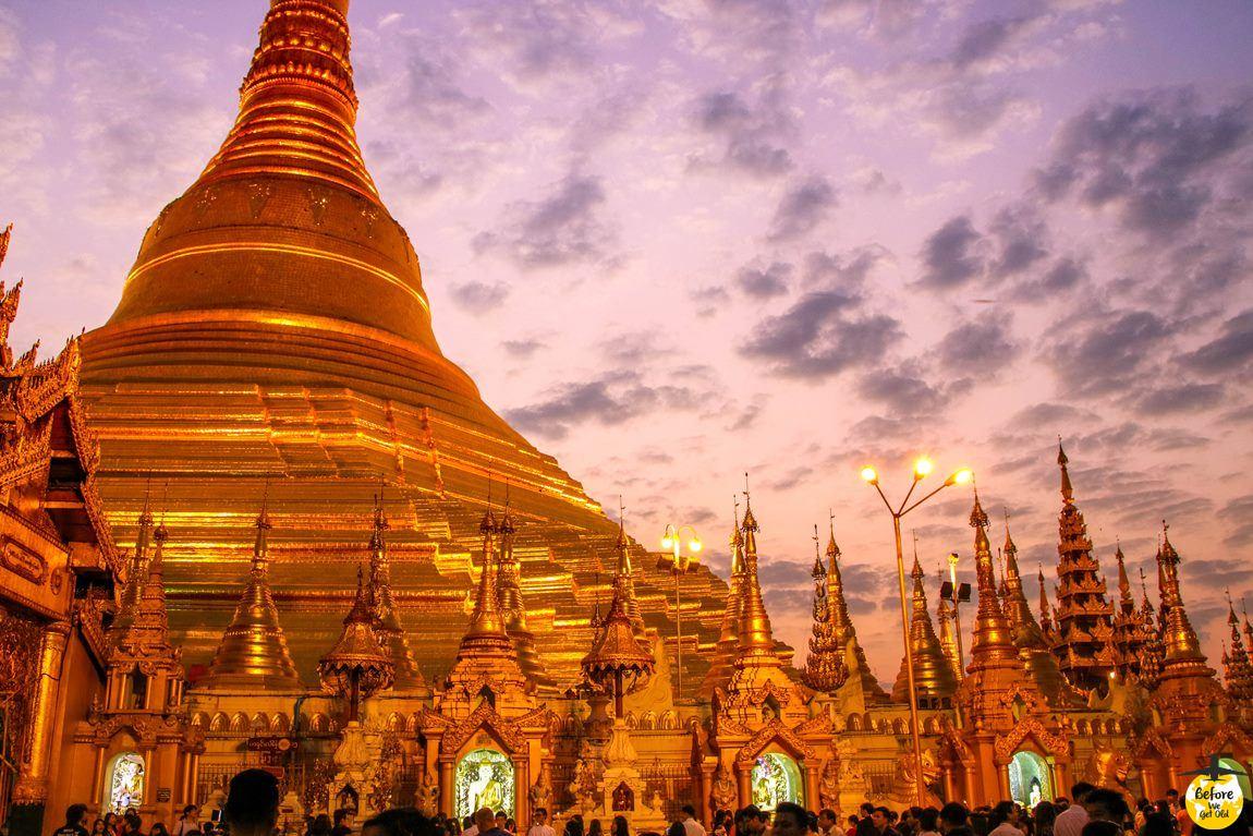 Yangon Birma atrakcje