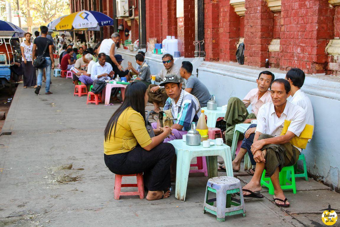 Yangon Birma herbata
