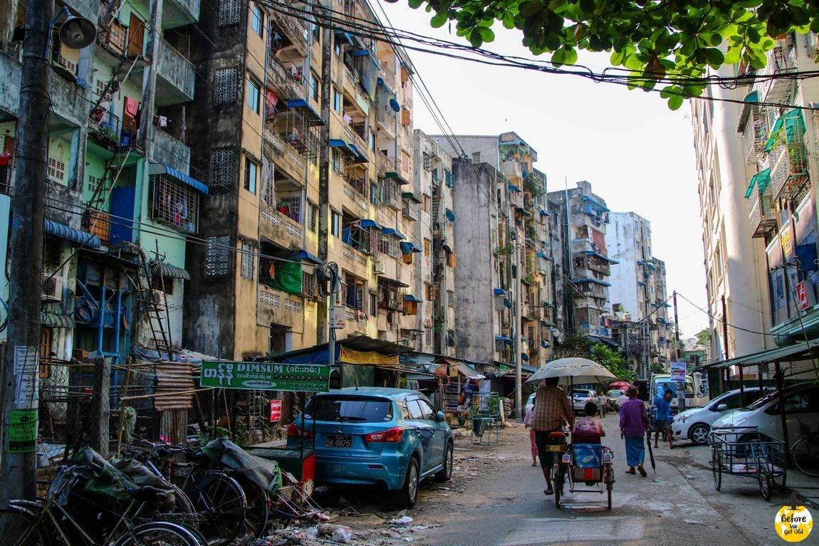 Yangon Birma co warto zobaczyć