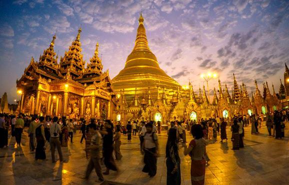 Yangon atrakcje Rangun