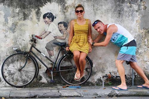 Georgetown Malezja murale