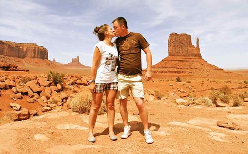 podróż poślubna do Stanów Zjednoczonych