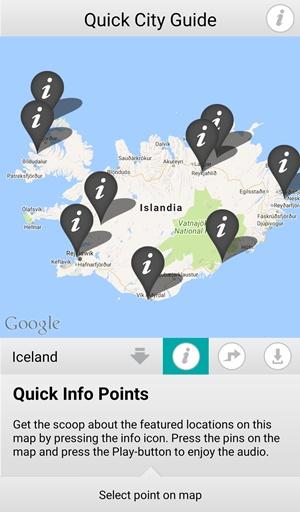 Islandia aplikacja do filmów