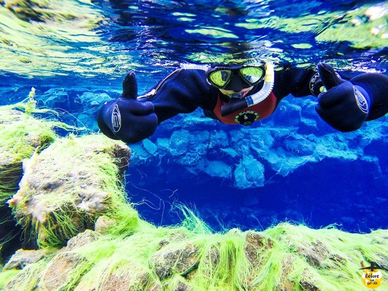 Silfra Islandia nurkowanie