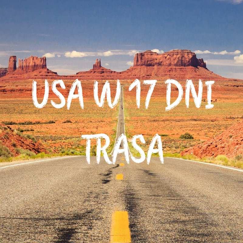 USA trasa na 2 tygodnie