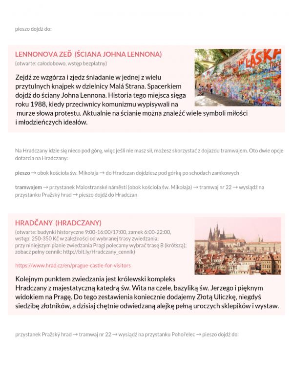 Praga na weekend atrakcje