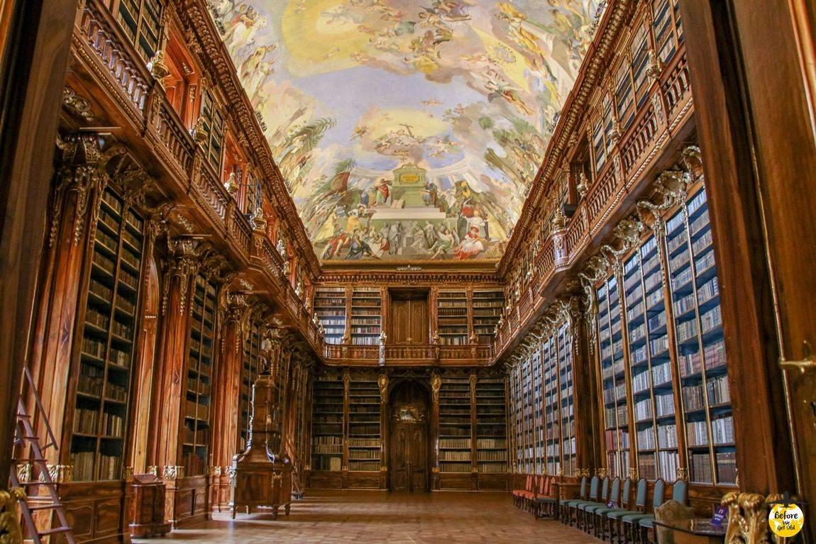 Praga w 3 dni biblioteka Hradczany