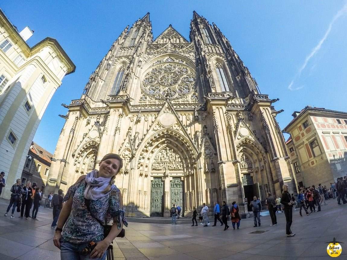 Katedra św. Wita Hradczany Praga
