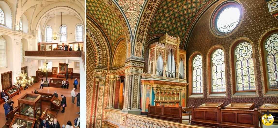 Praga w 3 dni synagogi Josefov