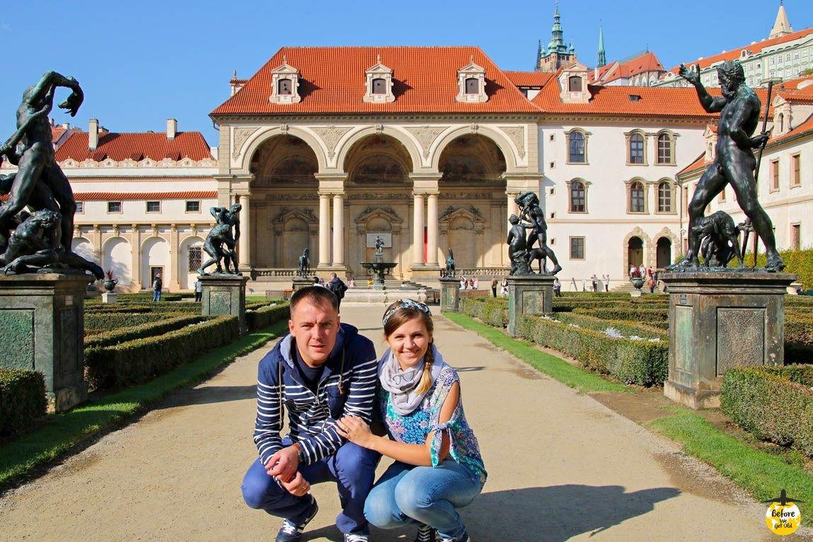 Praga Pałac Wallensteina ogrody