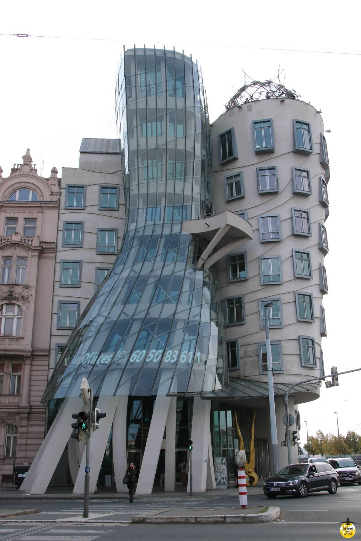 Praga w 3 dni tańczący dom