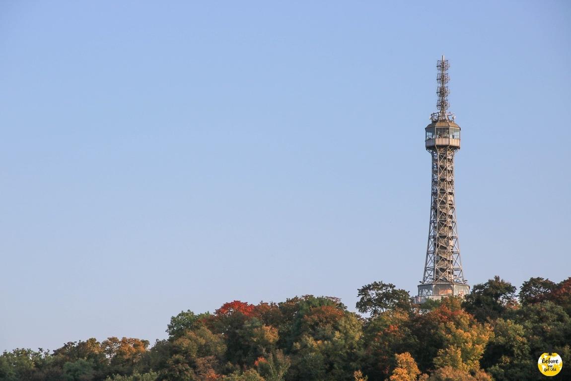 Praga w 3 dni wieża Petrin